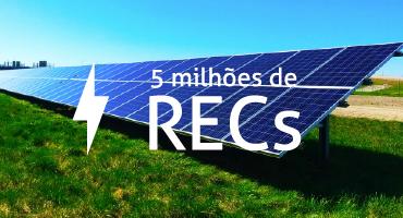 Estimativa é de 5 milhões de RECs emitidos em 2020